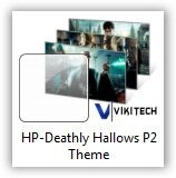 Harry Potter - The Deathly Hallows Part 2 Windows 7 Theme
