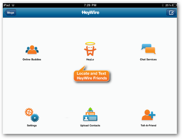Send Free Text Messages Around the World with HeyWire