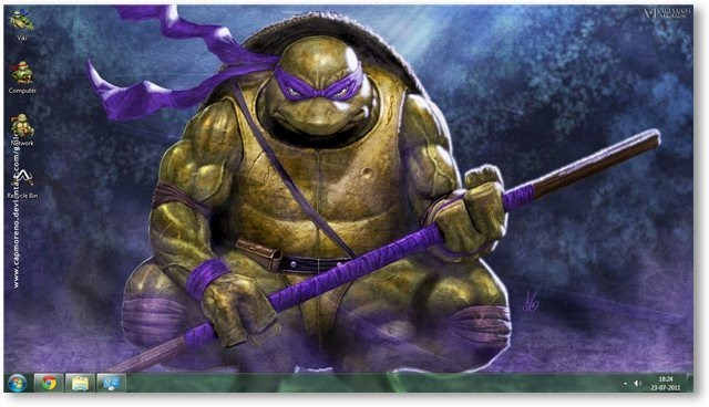 Teenage Mutant Ninja Turtles Theme For Windows