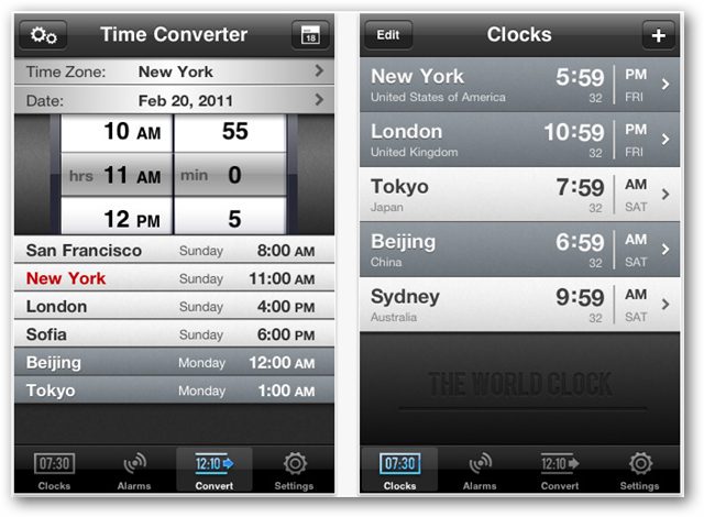 The best travel apps for the ipad and iphone the world clock gumiabroncs Images