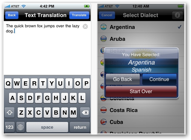 myLanguage Free Translator