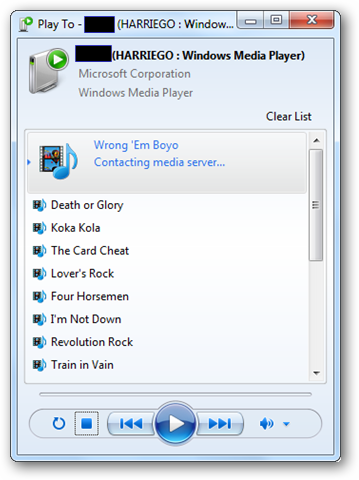 How To Use Windows 7 Play To Feature To Stream Media Across