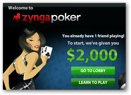 how to play zynga poker with facebook friends