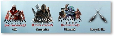 Assassin's Creed Theme Icons - TechNorms