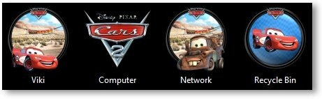 Cars 2 Icons - TechNorms