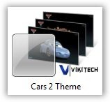 Cars 2 Windows 7 Theme by TechNorms
