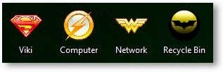 DC Comics Icons - TechNorms