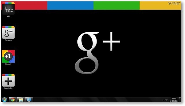 Google Plus Theme Wallpaper 01