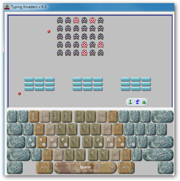 typing invaders