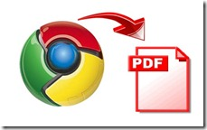 Chrome to PDF