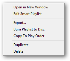 Exporting iTunes playlist