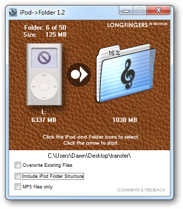 how to add music folder to ipod