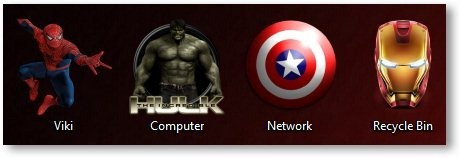 Marvel Comics Theme Icons - TechNorms