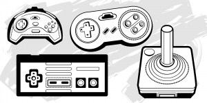 Retro PC Game Controllers