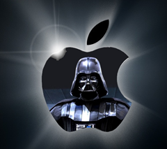 apple evil corporate logo darth vader