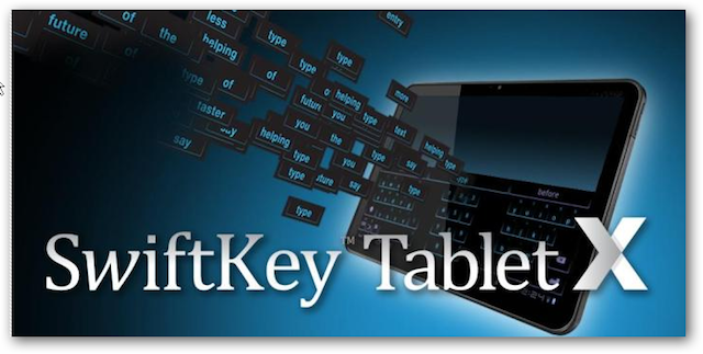 swiftkey tablet x