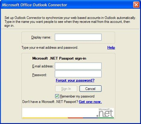 Microsoft Office Outlook Connector