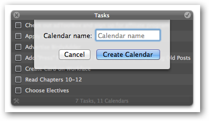 Add New Calendars to Anxiety