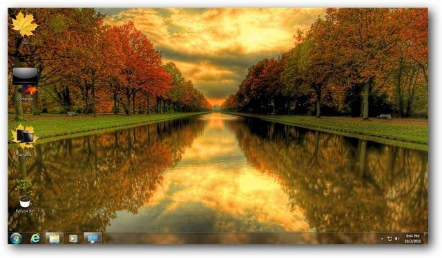 Autumn Theme For Windows 7 And 8 Nature Themes