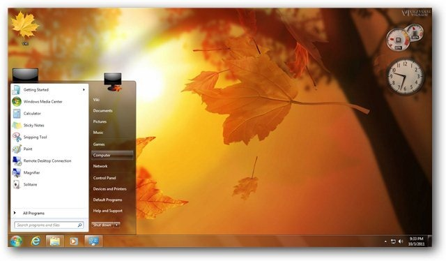 autumn theme for windows 7 and windows 8 nature themes