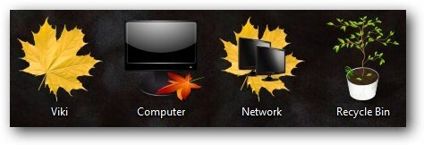 AutumnTheme Icons - TechNorms