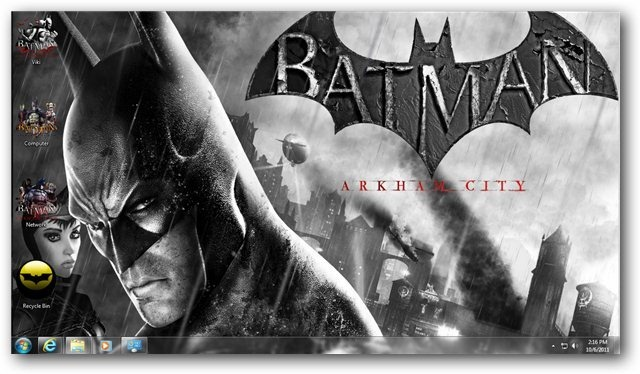 Batman Arkham City Wallpaper 01 - TechNorms
