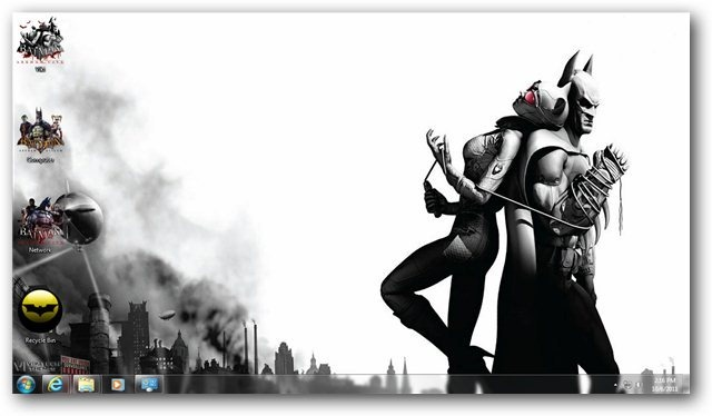 Batman Arkham City Wallpaper 03 - TechNorms