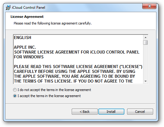 how to setup and use icloud
