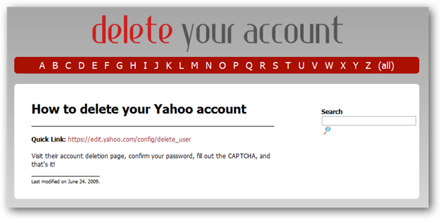 how to delete zorpia account from yahoo