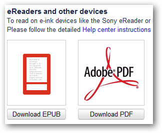 eReaders and other devices