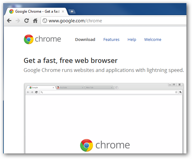 Chrome's UI