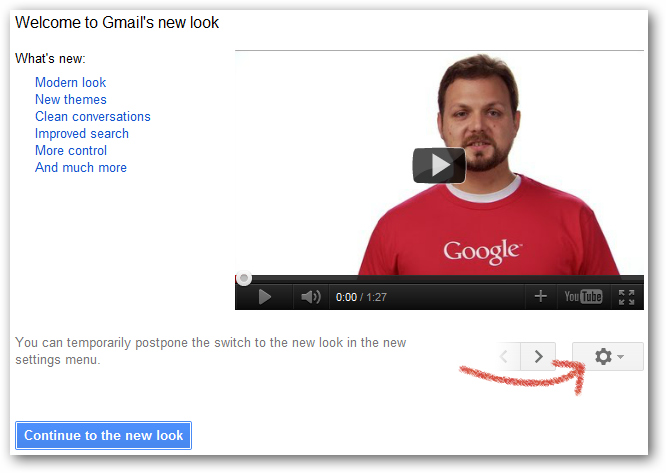 Welcome to Gmail's new look