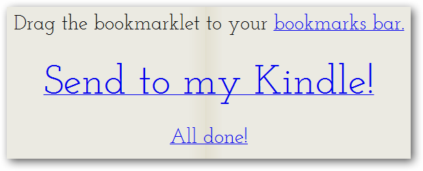 Send to my Kindle!