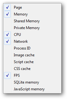 Right click on Chrome Task Manager item