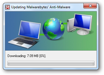 Updating Malwarebytes' Anti-Malware