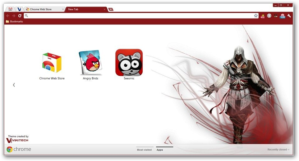 assassin s creed google chrome themes