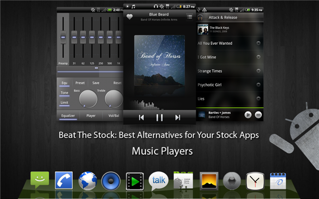 best music player apps for android beat the stock. Black Bedroom Furniture Sets. Home Design Ideas