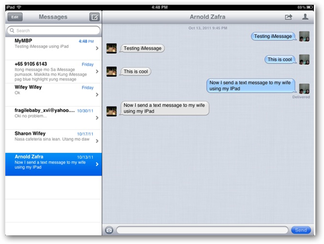 How To Setup And Use Imessage Feature On Ios 5