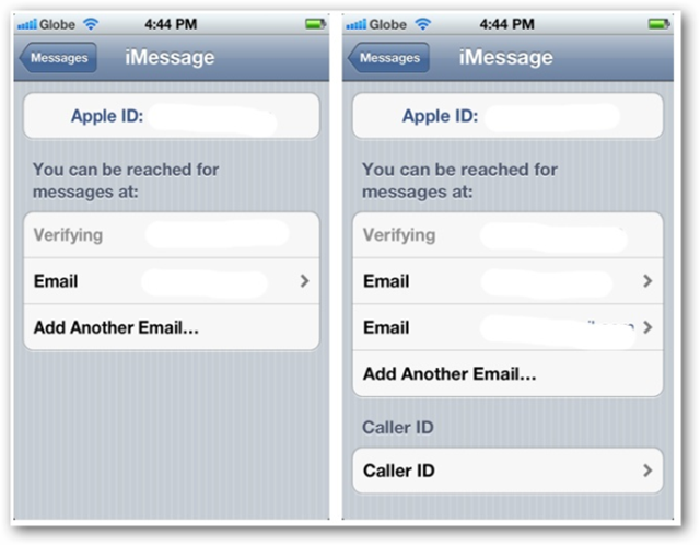 Once these are all set up you can now start using imessage