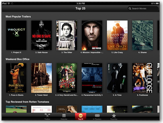 movies apps for ios