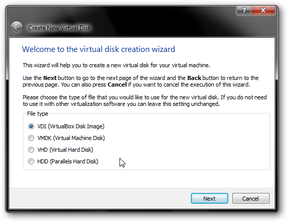 virtualbox-disk-image