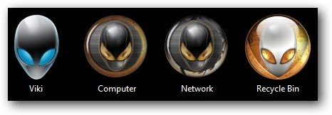 Alienware Theme Icons - TechNorms
