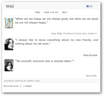 Quotes Book-chrome apps
