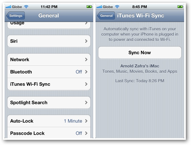 How to Set Up and Use Wi-Fi Sync Feature in iOS 5