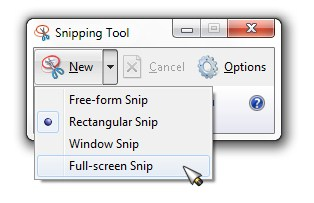 Snipping-Tool-Capture-Options