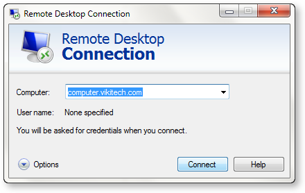 Widnows-Remote-Desktop-Connection