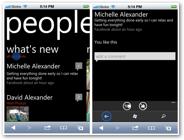 Test-Drive Windows Phone 7 on Your iPhone or Android Devices