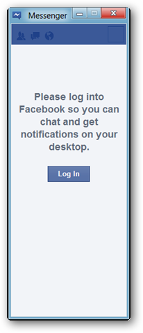 facebook messenger main window