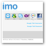 imo instant messenger-chrome apps
