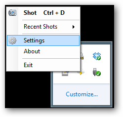 open settings-cloudshot
